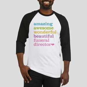 Amazing Funeral Director Baseball Jersey