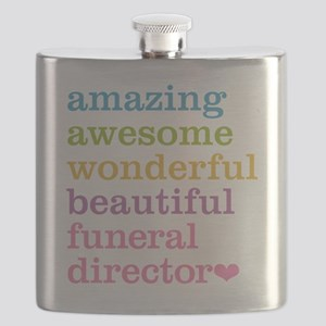 Amazing Funeral Director Flask