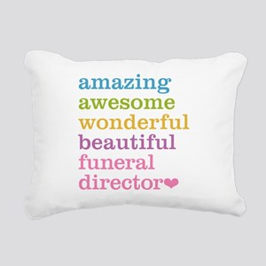Amazing Funeral Director Rectangular Canvas Pillow