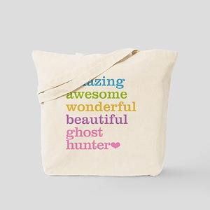 Amazing Ghost Hunter Tote Bag