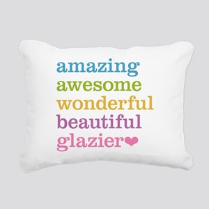 Amazing Glazier Rectangular Canvas Pillow