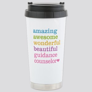Amazing Guidance Counse Stainless Steel Travel Mug