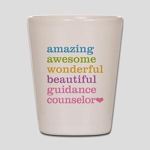 Amazing Guidance Counselor Shot Glass