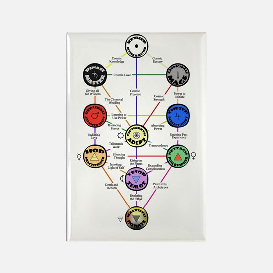 Master New Hermetics Tree Rectangle Magnet (10 pac