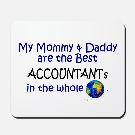 Best Accountants In The World Mousepad