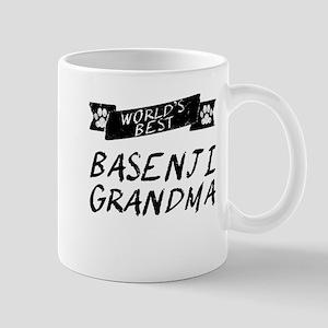 Worlds Best Basenji Grandma Mugs