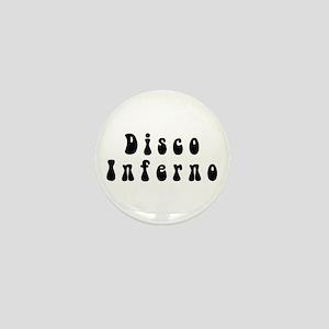 Logo in black Mini Button