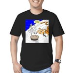 The Life of Pie Men's Fitted T-Shirt (dark)