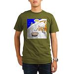The Life of Pie Organic Men's T-Shirt (dark)