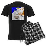 The Life of Pie Men's Dark Pajamas