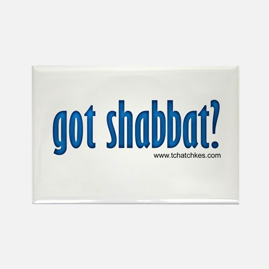Got Shabbat? Rectangle Magnet