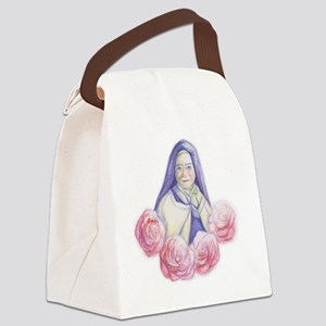 St. Therese bag Canvas Lunch Bag