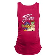 Garfield Stingy Candy Maternity Tank Top