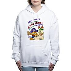 Garfield Stingy Candy Women's Hooded Sweatshirt
