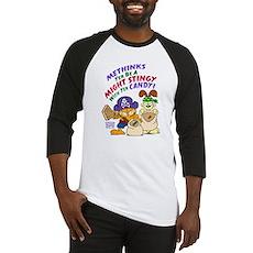 Garfield Stingy Candy Baseball Jersey