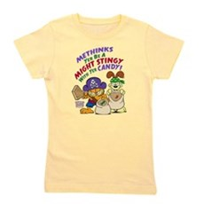 Garfield Stingy Candy Girl's Tee