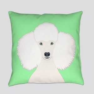 Poodle Everyday Pillow