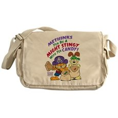 Garfield Stingy Candy Messenger Bag