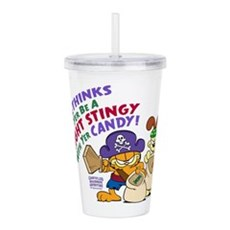 Garfield Stingy Candy Acrylic Double-Wall Tumbler