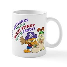 Garfield Stingy Candy Mugs