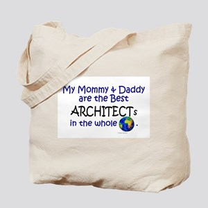 Best Architects In The World Tote Bag