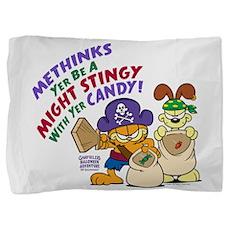 Garfield Stingy Candy Pillow Sham