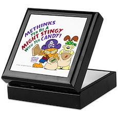 Garfield Stingy Candy Keepsake Box
