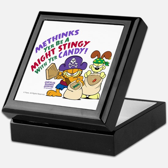 Garfield Stingy Candy Keepsake Box