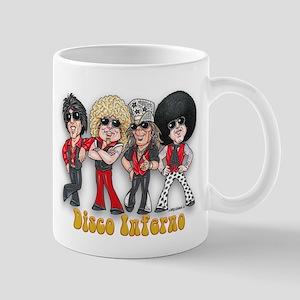 Disco Inferno Cartoon 1 Mugs
