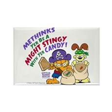 Garfield Stingy Candy Magnets