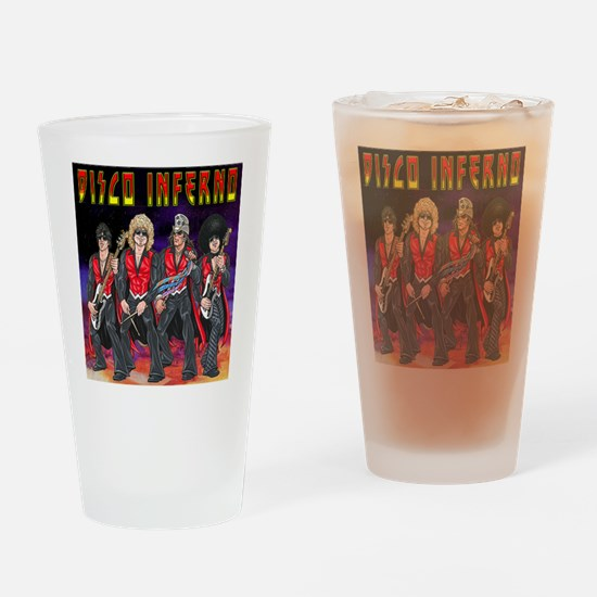 Disco Destroyer Drinking Glass