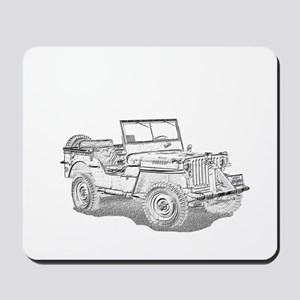 42 Ford GPW in Pencil Mousepad