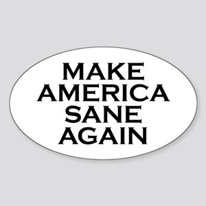 Make America Sane Again Sticker