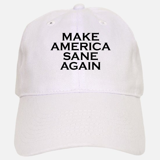 Make America Sane Again Baseball Baseball Baseball Cap