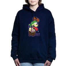 Odie the Stupid Women's Hooded Sweatshirt
