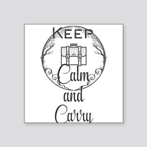 Keep Calm and Carry Sticker