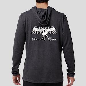 Swan Lake Ballet Hooded Long Sleeve T-Shirt