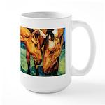 """""""Bailey & Buffy"""" Large Mug"""