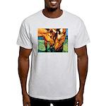 """""""Bailey & Buffy"""" Ash Grey T-Shirt"""