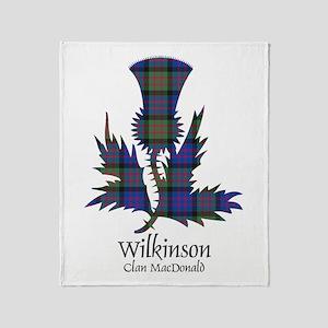 Thistle-Wilkinson.MacDonald Throw Blanket