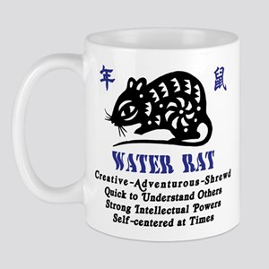 Chinese Zodiac Water Rat Mug