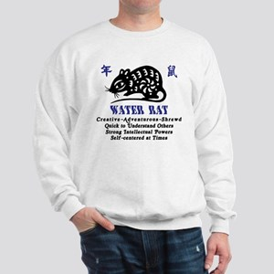 Chinese Zodiac Water Rat Sweatshirt