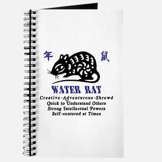 Chinese Zodiac Water Rat Journal
