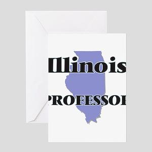 Illinois Professor Greeting Cards