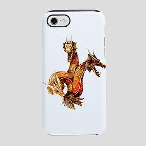 Three Headed Copper Dragon iPhone 8/7 Tough Case