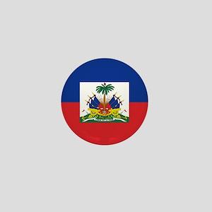Haiti Flag Mini Button
