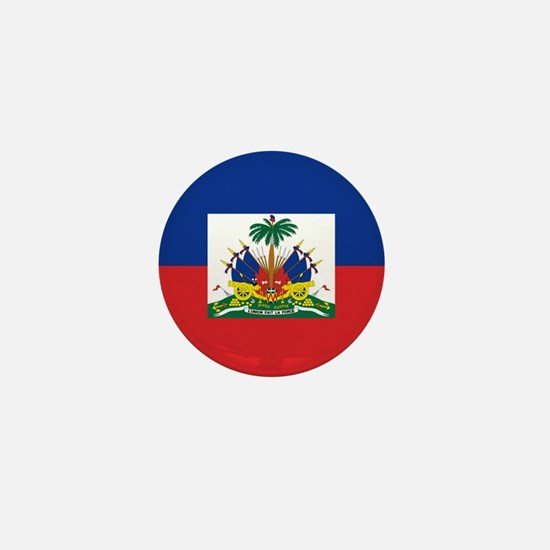 Haiti Flag Mini Button