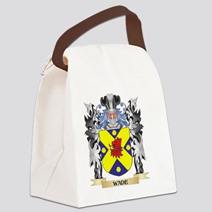 Wade Coat of Arms - Family Crest Canvas Lunch Bag