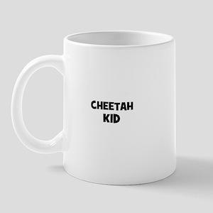 cheetah kid Mug