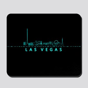Digital Cityscape: Las Vegas, Nevada Mousepad